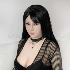 (Hui Full  Head) Fetish Crossdress Handmade Soft  Realistic Face Silicone Sexy And Pretty Lady Full Head Female Face Crossdresser Doll Mask