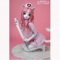 (HD04)Lilith Female Cute Kitty Cat Mask Girl Resin Full Head Cosplay Japanese Role Play BJD Kigurumi Mask Crossdresser Doll Mask