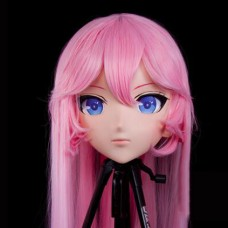 Custom Crossdress Female/Girl Resin 3/4 Head Cosplay Japanese Role Play Anime Yae Sakura Kigurumi Mask