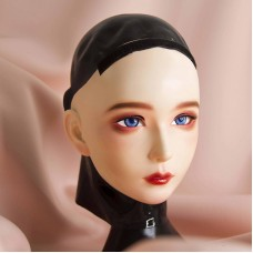 (CDFM-2))Handmade Female/Girl Resin And Latex Hood Full Head Japanese Cartoon Character Cosplay Kigurumi Mask Crossdresser Doll