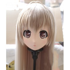 (KM254)Female/Girl Resin 3/4 Head Japanese Cartoon Kasugano Sora Cosplay Crossdress Kigurumi Mask