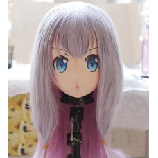 (KM259)Female/Girl Resin 3/4 Head Japanese Cartoon Izumi Sagir Cosplay Crossdress Kigurumi Mask