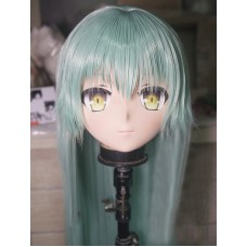 (KM260)Female/Girl Resin 3/4 Head Japanese Cartoon Kiyohime Cosplay Crossdress Kigurumi Mask