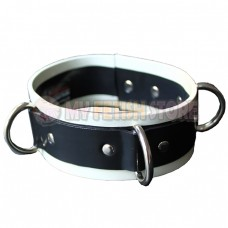 (DM209)100% natural latex Pure handmade rubber collar neck wear