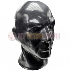 (DM232) Top quality DM 100% natural full head human face latex mask rubber hood suffocate Mask fetish wear
