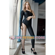 (MW9293) Luxury Customize Imitation Leather Fabric Catsuit Zentai Leotard Tights